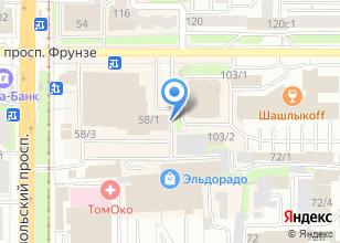 Компания «Фирма А» на карте