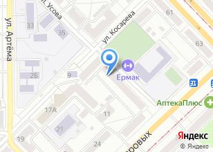 Компания «AVGUST DNS» на карте