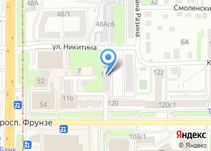 Компания «НВ сервис» на карте