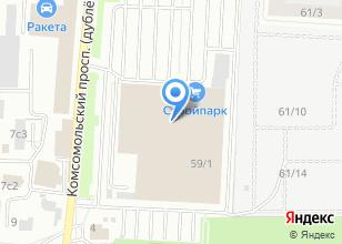 Компания «Вива Мебель» на карте