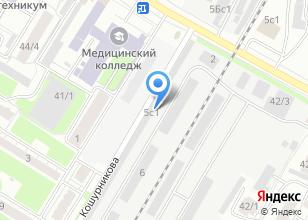 Компания «АлмазАвто» на карте