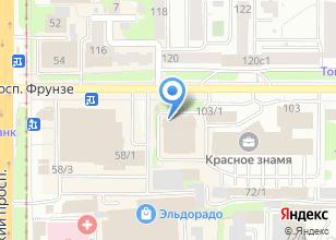 Компания «Фонбет» на карте