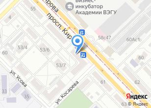 Компания «Уютная мебель» на карте