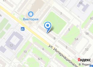 Компания «Луиза» на карте