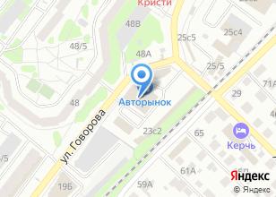 Компания «Магазин автозапчастей для Ода и Москвич» на карте
