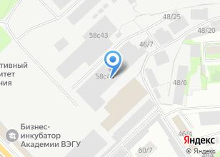Компания «СайтМонтаж» на карте