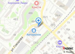 Компания «Сквозной» на карте