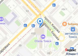 Компания «iSmartoFF» на карте