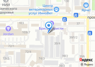 Компания «Управление Федеральной службы войск национальной гвардии РФ по Томской области» на карте