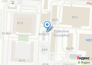 Компания «ИнвестГрадСтрой» на карте