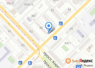 Компания «in TOP» на карте