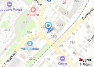 Компания «ОрионАвто» на карте