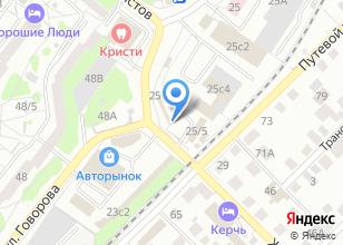 Компания «АвтоСтоп» на карте