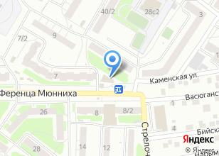 Компания «Томский расчетный центр» на карте
