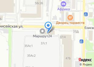 Компания «Вист-Томск» на карте