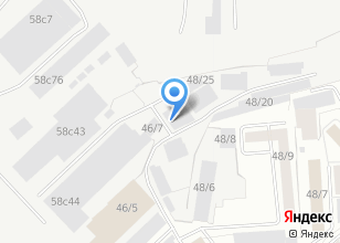 Компания «Мегасервис» на карте