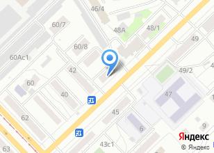 Компания «2 Байта» на карте
