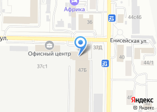 Компания «Кухонные уголки» на карте