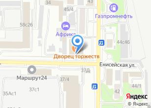 Компания «Свадебный декор» на карте