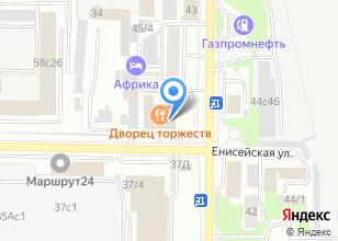 Компания «VERANDA» на карте