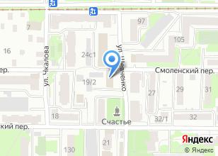 Компания «Инженер» на карте