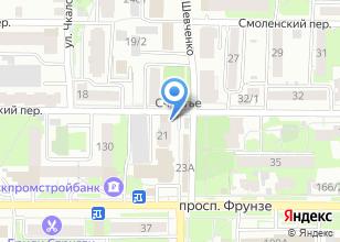 Компания «Л`амика» на карте