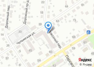 Компания «Зазеркалье» на карте