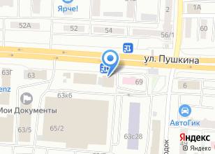 Компания «МЕГАБЕТ» на карте