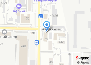 Компания «Бриджстоун» на карте
