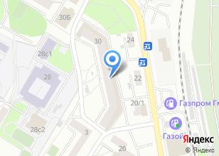 Компания «Вокс» на карте