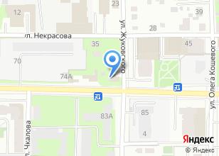 Компания «Автосервис на ул. Жуковского» на карте
