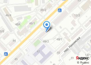 Компания «U4» на карте