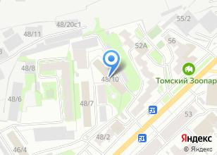 Компания «Управление МВД России по Томской области» на карте