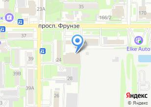 Компания «ТОМСКИЙ СЕРВИСНЫЙ ЦЕНТР» на карте