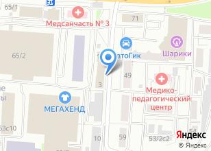 Компания «Шить KRASIVO» на карте