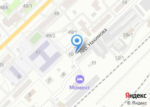Компания «Гурон» на карте