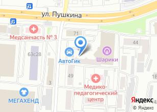 Компания «Консультант Плюс» на карте