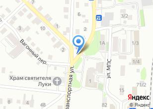 Компания «На Транспортной» на карте