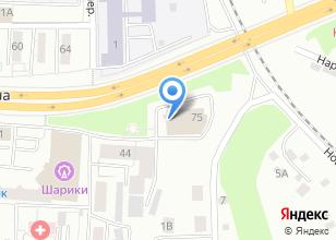 Компания «АвтоСпасатель» на карте