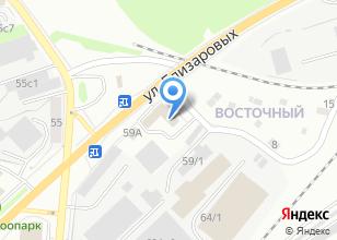 Компания «Территориальная избирательная комиссия Советского района» на карте