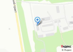 Компания «Мастерская грузового шиномонтажа» на карте