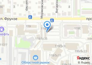 Компания «Кафе узбекской кухни на проспекте Фрунзе» на карте