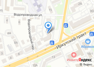 Компания «Мебиус» на карте