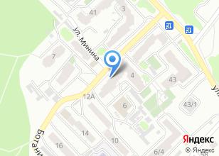 Компания «Италиано Пицца» на карте