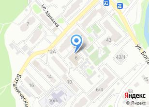 Компания «Баня №13» на карте