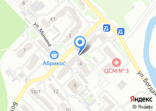 Компания «Восторг» на карте