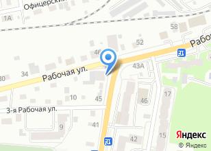 Компания «АвтоГен» на карте