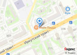 Компания «ShellЛаки» на карте