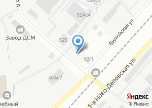 Компания «ДК-Моторс» на карте