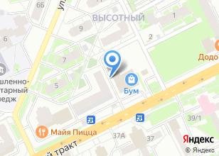 Компания «Венец Сибири» на карте